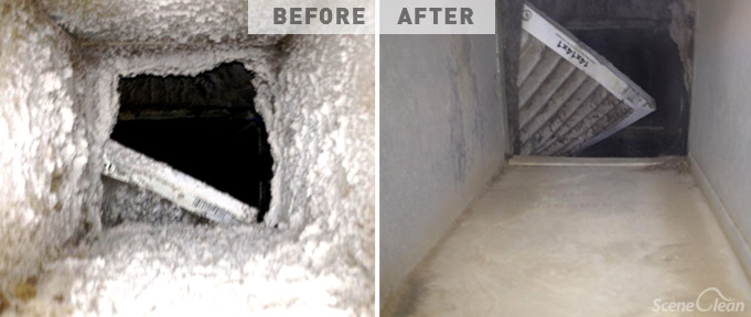 Air Duct Cleaning - Scene Clean