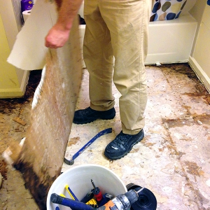 Bathroom Remodeling - Disaster Restoration - Scene Clean