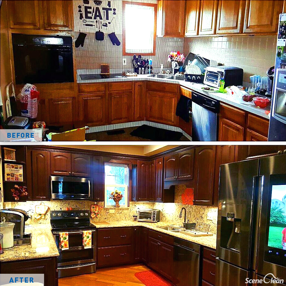Kitchen Remodeling - Scene Clean